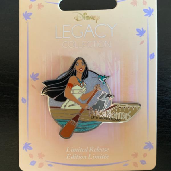Pocahontas 25th Anniversary pin
