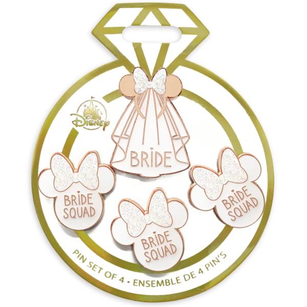 Bride squad - Minnie Mouse Icon ''Bride Squad'' Flair Pin Set pin
