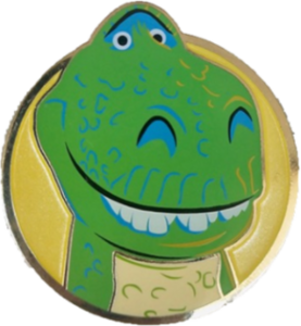 Rex Round Artland pin