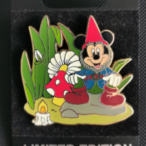 Spotlight - Garden Gnomes - Mickey Mouse  pin