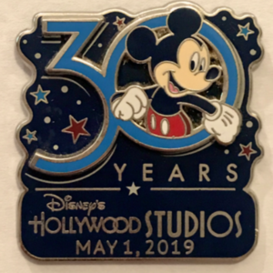 Disney's Hollywood Studios 30th Anniversary Classic pin