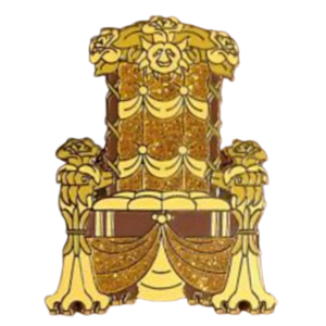 Belle Royal Hall Mystery Throne pin