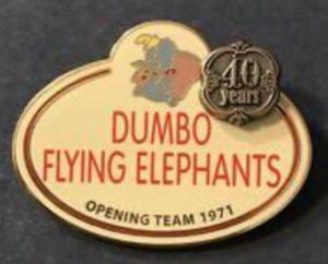 Dumbo Flying Elephants pin