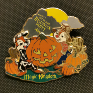 Mickey's Not So Scary Halloween Party 2006 - Chip & Dale  pin