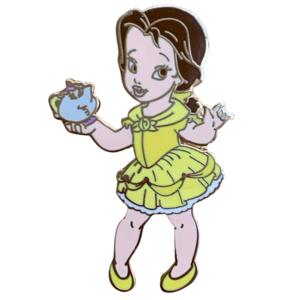 Toddler Princess - 7 Mini Pin Boxed Set - Belle pin