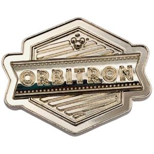 Orbitron - Center Street Boutique - Hong Kong Disneyland Signs pin
