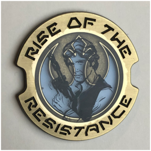 Han Solo Rise of the Resistance pin