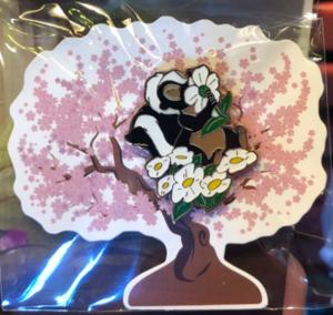 Flower Air Freshener pin