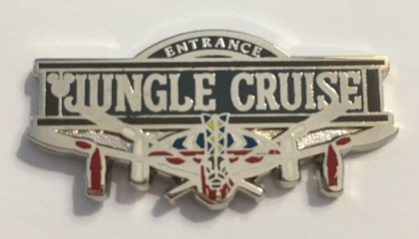 Jungle Cruise - Hidden Mickey Attractions pin