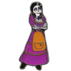 Mama Imelda arms folded - Box Lunch pin