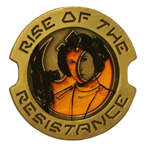 Star Wars - Rise of the Resistance - Leia Organa pin