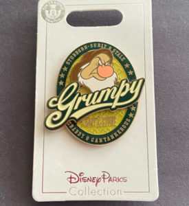 Grumpy - Short & Stout pin