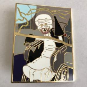 DSSH - Nightmare Before Christmas Puzzle Piece Series - Dr. Finkelstein pin