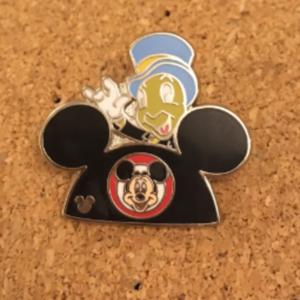 Jiminy Cricket Mickey hat  pin