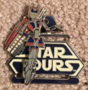 Aly San San Star Tours pin