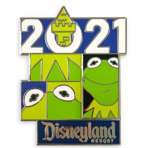 Kermit the Frog 2021 Disneyland Resort pin