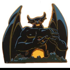 "Villain Core - ""Chernabog"" pin"