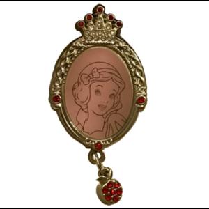 Jeweled Snow White Frame - HKDL version pin