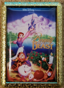 Beauty and the Beast pin