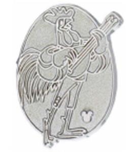Allan-a-Dale Hidden Mickey (Chaser) pin