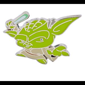 Yoda cute pin