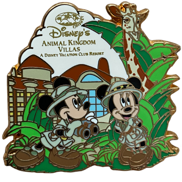 Disney's Animal Kingdom Villas - DVC exclusive pin