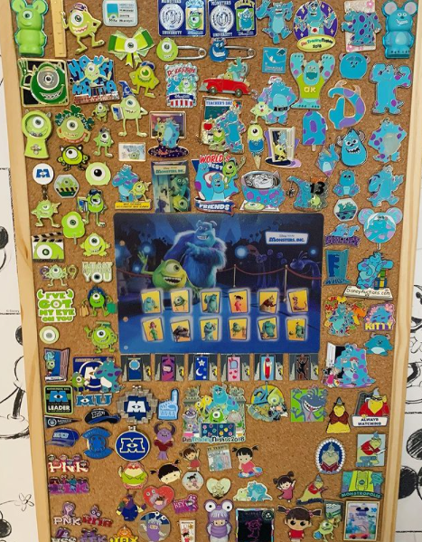 Some of Lauren's Monsters Inc collection
