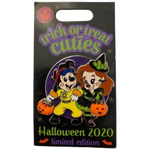 WDW - Halloween 2020 - Trick or Treat Cuties - Max & Roxanne pin