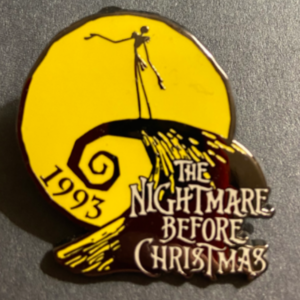 Jack Skellington 1993 The Nightmare Before Christmas - 100 Years of Dreams (94/100) pin
