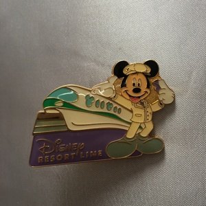 Monorail resort line Mickey pin