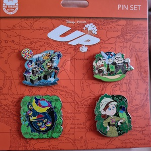 4 pin UP set - complete set pin