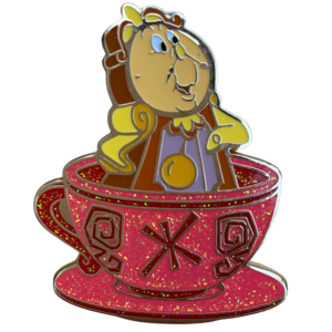 HKDL - Magic Access Shop & Reward Mad Hatter Tea Cup Mystery Set - Cogsworth  pin