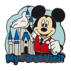 Mickey Mouse - My First Visit - Mickey Mouse and Friends ''My First'' Pin Trading Starter Set pin