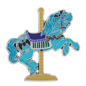 Haunted Mansion Carousel Horse  pin