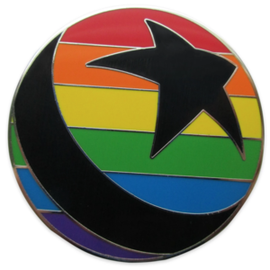 Pixar Ball Pin – Rainbow Disney Collection pin