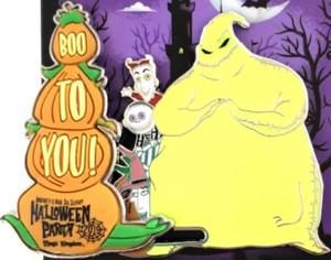 Oogie Boogie Halloween 2019 pin