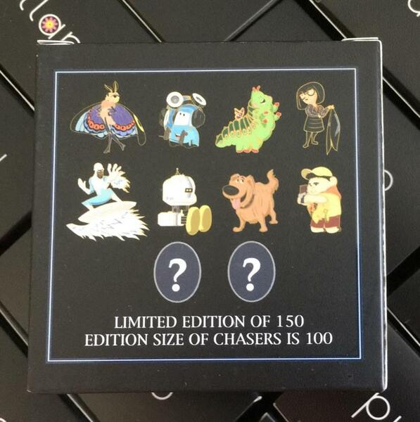 The contents of the mystery pin box from Artland