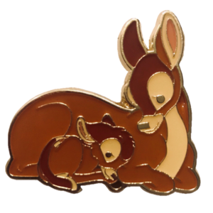 Loungefly - Bambi and Mother Cuddle pin