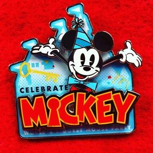Celebrate Mickey pin