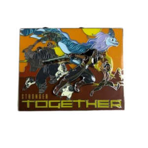 Raya Stronger Together pin