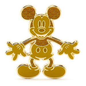 Gold Mickey standing pin
