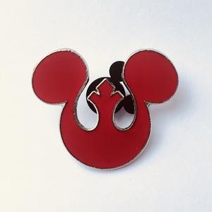 Mickey Mouse Rebel Alliance Seal pin pin