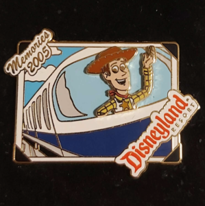 Woody Monorail 2005 Memories - Disneyland Resort pin