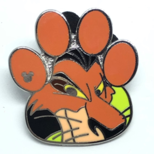 Scar - Hidden Mickey Lion King pin