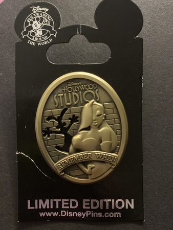 Jessica Rabbit Hollywood Studios Remember When pin