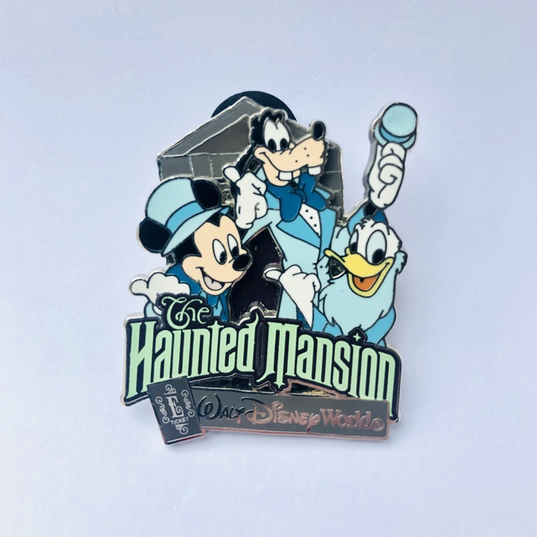 A Haunted Mansion pin I got at a recent pin event