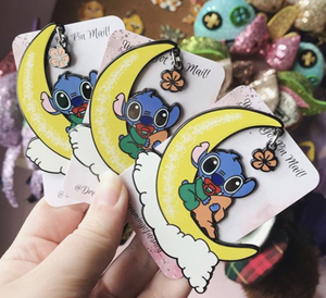 Sleepy stitch  pin