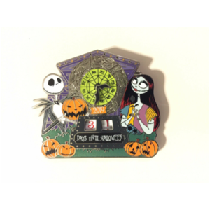 Halloween Countdown 2019 pin