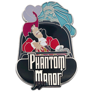 Captain Hook in doom buggy - Phantom Manor pin trading event - DLP pin