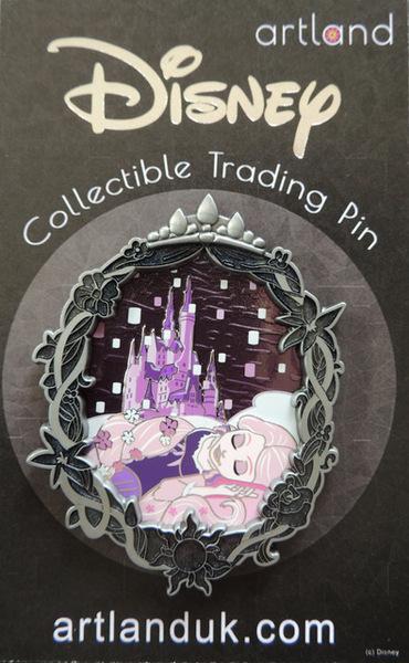 Rapunzel Gothic Princess Artland pin